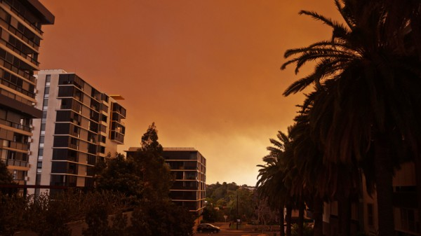 Bushfire smoke over Sydney (Pic: Flickr/Maarten Danial)