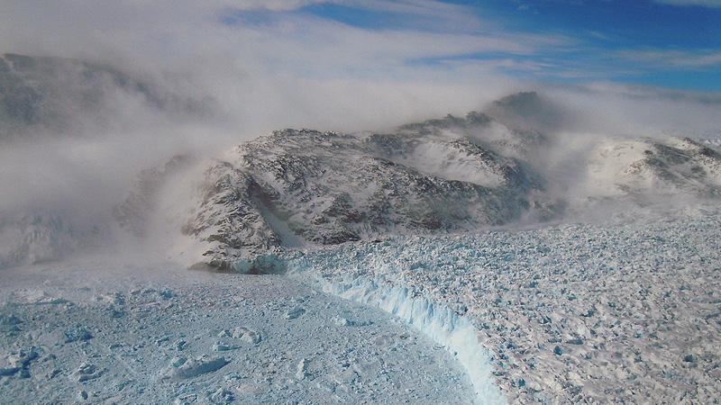 Gyldenlove Glacier, Greenland (Pic: NASA Goddard Space Flight Center)