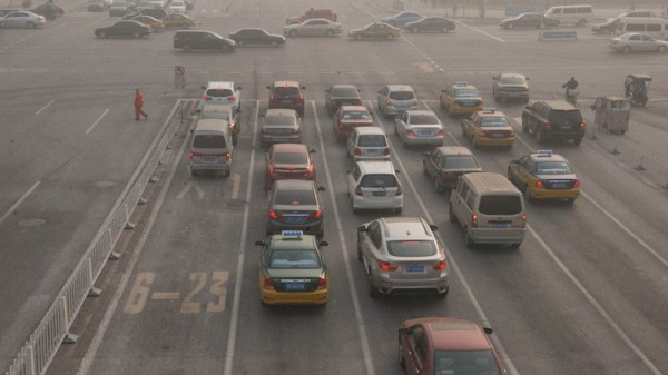 China's policies to cut air pollution and greenhouse gas emissions are curbing oil demand (Pic: Flickr/michael davis-burchat)