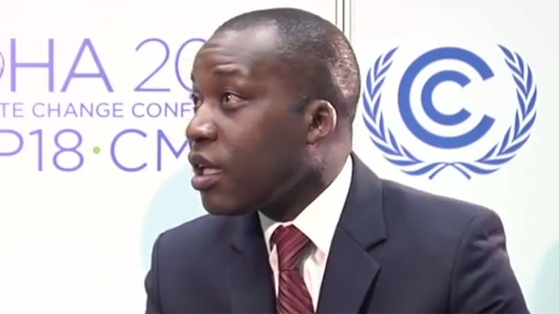 Gaspar Martins took over chairmanship of the Least Developed Countries in January