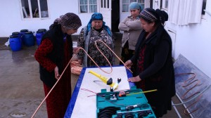 Tajikistan's women take solar power into their own hands