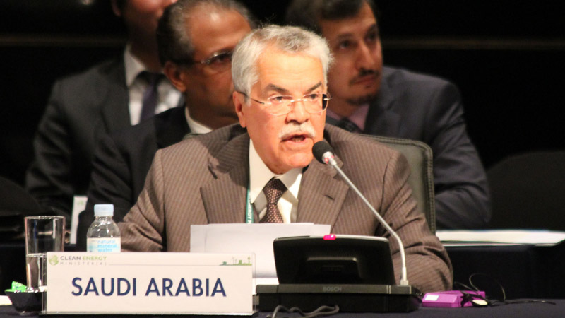 Ali Ibrahim Al-Naimi, Minister of Petroleum and Mineral Resources, Saudi Arabia (Pic: IISD/Flickr)