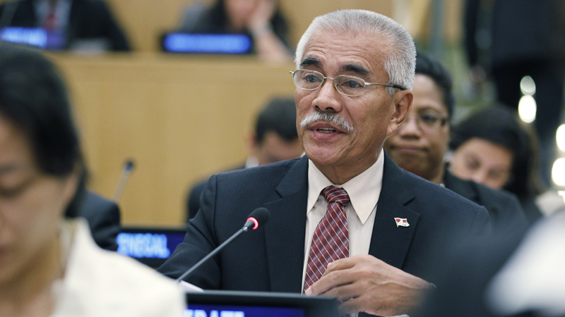 Kiribati president Anote Tong (Pic: UN Photos)