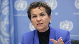 UN climate chief expects national plans to cover up to 80% of emissions before Paris