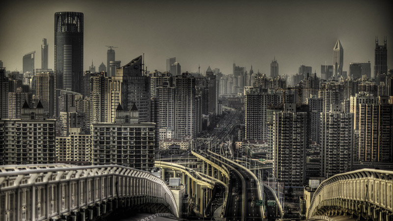 Many of China's major cities are blighted by a soup of toxic fog on a daily basis (Pic: Flickr/Jakob Montrasio)