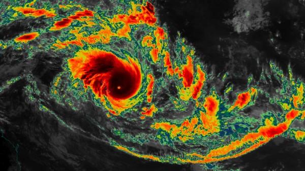 Cyclone Pam mears Vanuatu (Pic: Flickr/Harrison Tran)