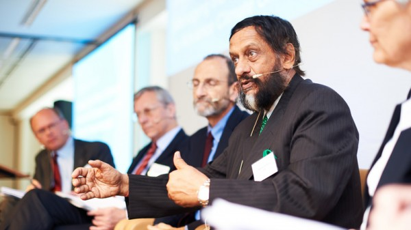 Rajendra Pachauri has stepped down as chair of the IPCC. Who's next? (Pic: Flickr/IPCC Photo/David Plas)