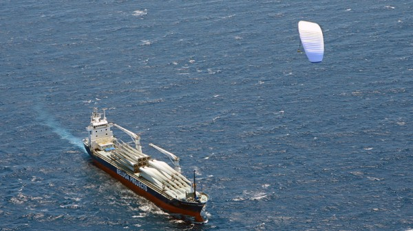 "Using a ""skysail"" can cut fuel  consumption by up to 35% (Pic: Flickr/PressReleaseFinder)"