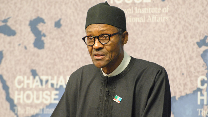 General Muhammadu Buhari, president of Nigeria (Pic: Chatham House/Flickr)