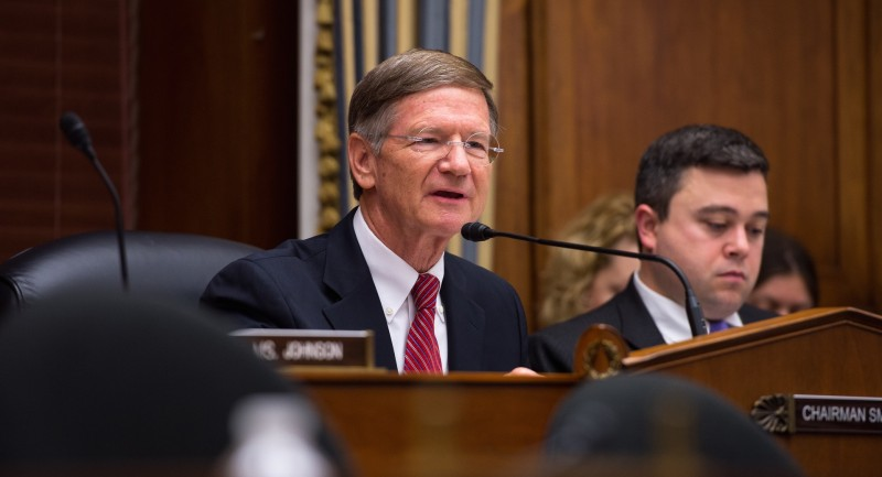 US Representative Congressman Lamar Smith (Pic: NASA HQ)