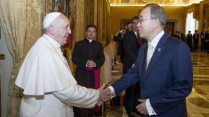 Storm clouds gather as Pope prepares climate warning