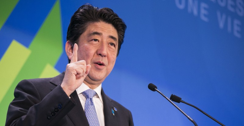 Japan prime minister Shinzo Abe (Pic: OECD/Flickr)