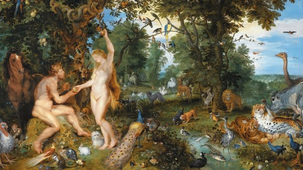 The Garden of Eden with the Fall of Man by Jan Brueghel the Elder and Pieter Paul Rubens (Pic: Wikimedia Commons/Jan Arkensteijn)