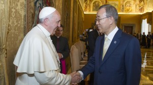 Ban Ki-moon urges Catholics to embrace climate action
