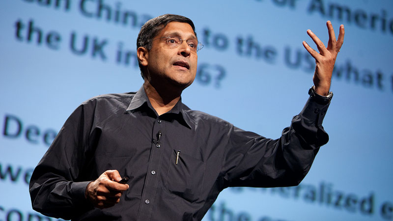 Arvind Subramanian, chief economic advisor to the Indian government (Pic; Flickr/Poptech)
