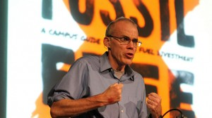Obama guilty of climate denial after Shell green light, says McKibben