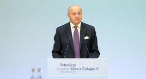 Fabius: Momentum growing behind long term climate target