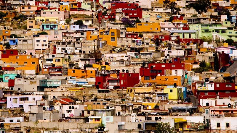 Slum in Pachuca..