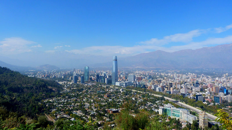Santiago, capital of Chile  (Pic: Gonzalo Baeza/Flickr)