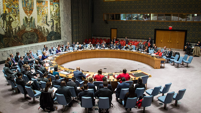 The US opposes Palestinian efforts to join more UN bodies, arguing it could damage peace process (Pic: UN Photo/Loey Felipe)
