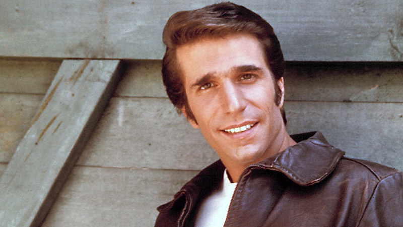"The epitome of cool? Henry Winkler aka ""The Fonz"" in 1980s hit series Happy Days (Pic: Flickr)"