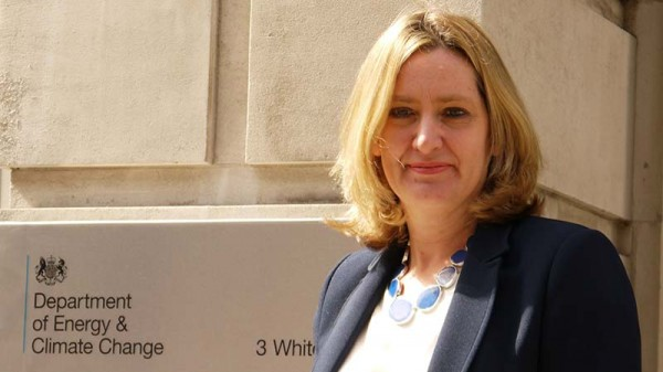 Cameron appoints Amber Rudd UK climate change chief