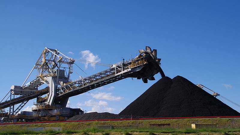 A coal loader at Kooragang Island, New South Wales. Australia is the world's second coal exporter. (Flickr/ Eye weed)