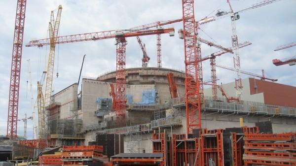 Olkiluoto reactor in Finland under construction (Pic: Flickr/BBC World Service)