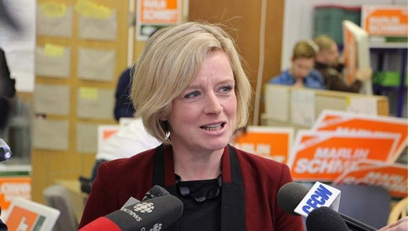 National Democratic Party leader Rachel Notley wants to clean up Alberta's tar sands (Pic: Wikimedia Commons)