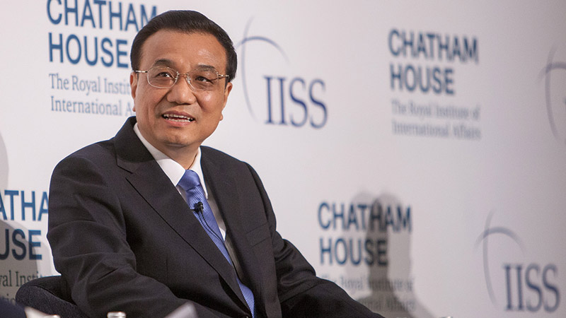 Chinese Premier Li Keqiang (Pic: Chatham House/Flickr)