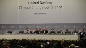 Bonn climate talks start slow as hefty text avoids chop