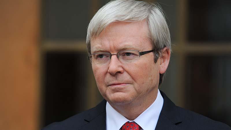 Kevin Rudd (Flickr / Presidency Maldives)