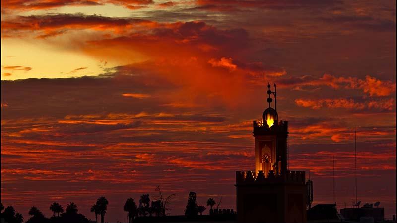 Sunset over Marakech (Flickr/)