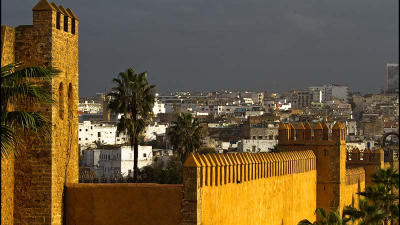 Kasbah des Oudayas, Rabat. Morocco, the expected COP22 host will hold a two-day 'INDC summit' in October (Flickr/ Elvin)