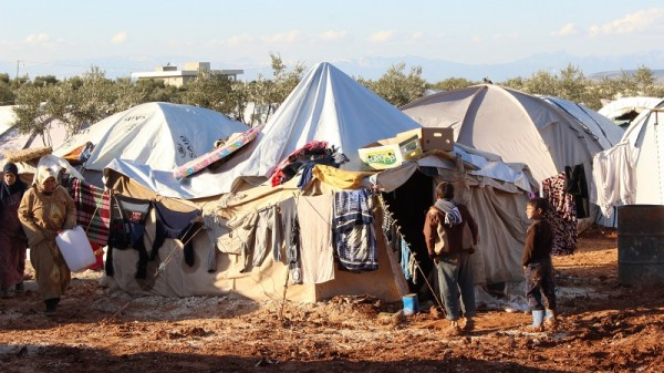 A refugee camp in Aleppo, Syria (Flickr/IHH Humanitarian Relief Foundation)