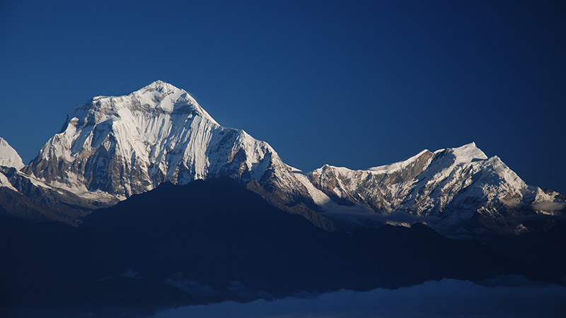 Annapurna South in central Nepal, which stands at 7,219 m altitude (Flickr/ C C Chang)