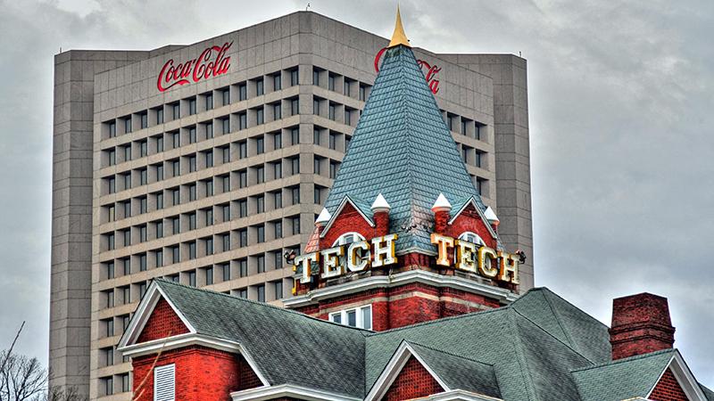 Coca Cola HQ, Atlanta. (Flickr/ Hector Alejandro)