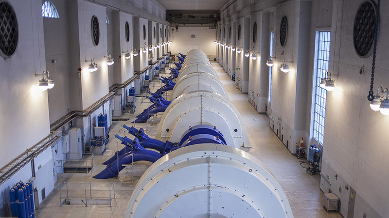 The Nore I hydropower plant operates at an installed capacity of 206 MW (Statkraft/Flickr)
