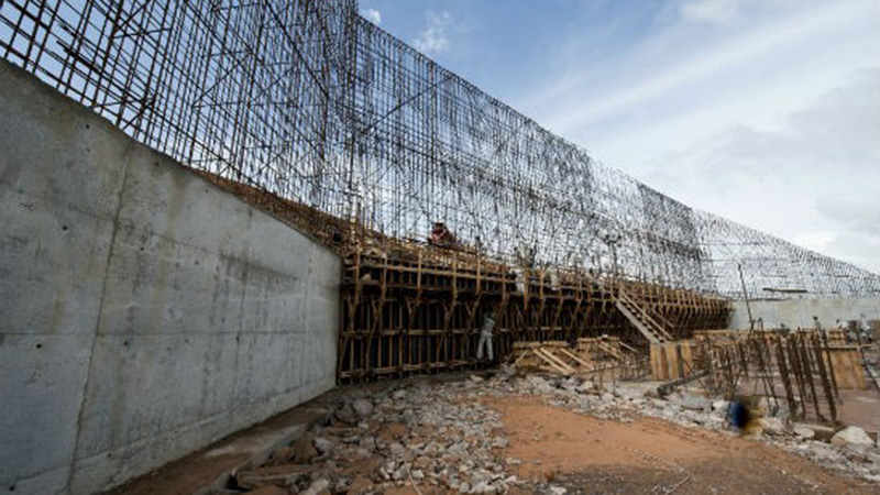 The Belo Monte Dam will shift 79.2 cubic metres of earth, more than the Panama canal (Credit: Programa de Aceleración del Crecimiento (PAC)/Creative Commons)