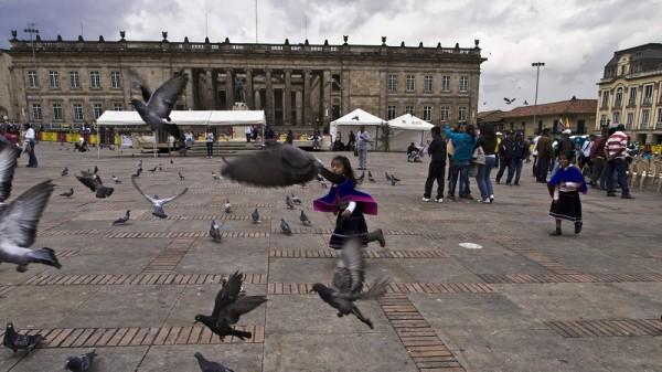 Plaza de Bolivar, Bogota (Flickr/Marcelo Druck)