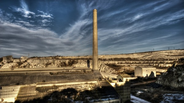 An abandoned cement works in the UK - will carbon costs drive more out of business? (Flickr/Paul)