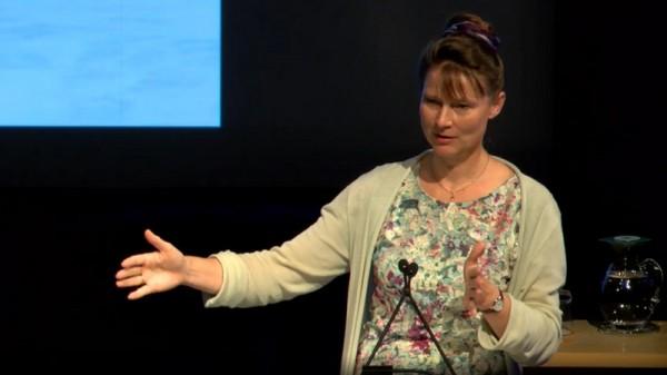 Marjan Minnesma addresses environmentalists in Brisbane (Screenshot)