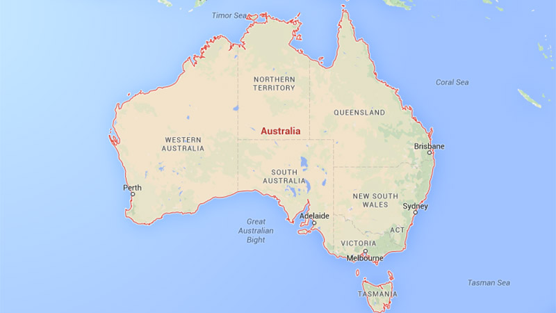 South Australia has 1.7 million inhabitants, with many in capital Adelaide (credit: google)