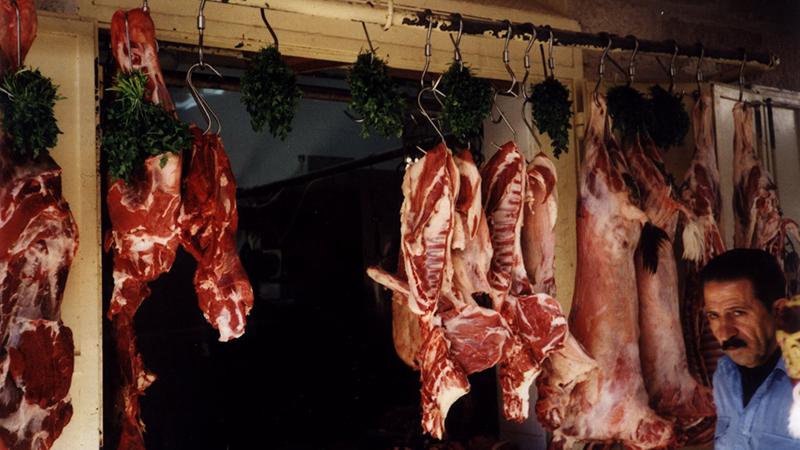A butcher in Bethlehem, Palestine (Flickr/ verdienter Künstler)