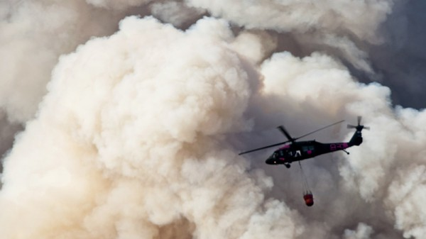 California wildfire growth 'explosive' says official