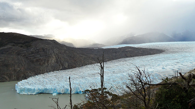 Glacier Grey in Chila is one of many experiencing increased rates of melting (Pic: Pixabay)