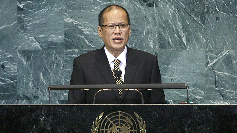 Benigo Aquino has been president of the Philippines since 2010 (Pic: UN photos)