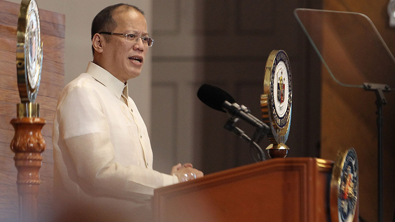 Philippines president Aquino (Pic: Presidential Museum and Library)