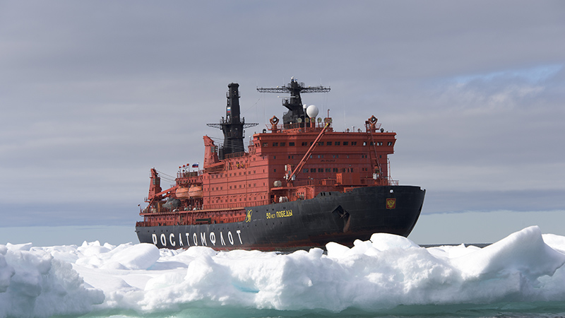 Russia has 14 icebreakers under construction and several more under planning (Pic: Christopher Michel/Flickr)