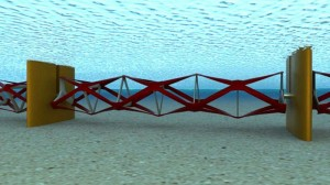 Tidal energy fence: Is this the future for marine power?